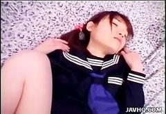 Minami Yuki, den håriga fitta skolflicka