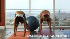 I slutet av yogalektion