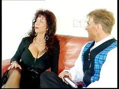 Gina och den styva kuk