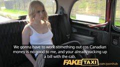 Med turist flickan i taxi