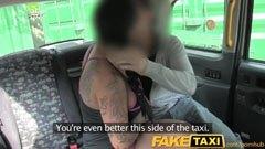 Den bystiga brud och skotska taxichauffören
