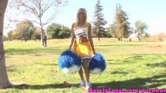 Breanne Benson, den blonda cheerleader
