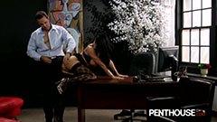 Romi Rain knullar med sin chef