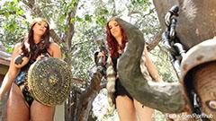Lesbisk viking flickor