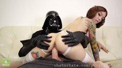 Darth Vader och Leia
