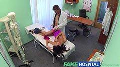 Den vackra patienten och doktorn