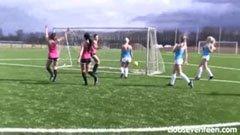 Det kvinnliga fotbollslaget