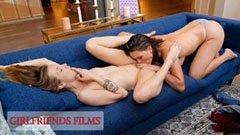 Karla och Krissy, de två fantastiska lesbiska
